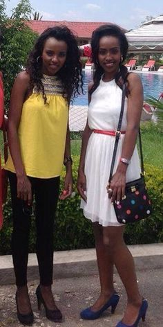 Tirunesh and Anna Dibaba, Ethiopia