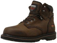 """Timberland PRO Men's Pitboss 6"""" Soft-Toe Boot - http://www.darrenblogs.com/2017/01/timberland-pro-mens-pitboss-6-soft-toe-boot/"""