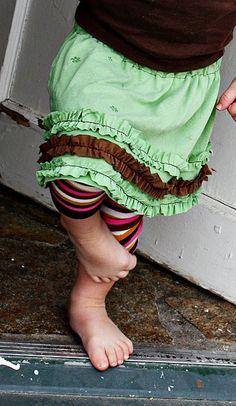 Knit Ruffle Skirt {Tutorial}