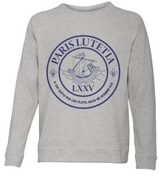 """LXXV"" sweat molleton italien désigné par Elise Ribeiro Collection Artee"