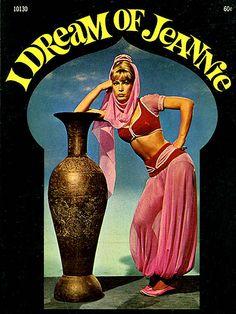 I Dream of Jeannie novel cover, 1966.