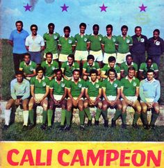 deportivo cali | DEPORTIVO CALI 1970