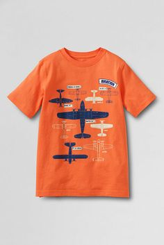Boys' Graphic T-shirt from Lands' End
