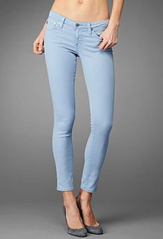AG legging ankle jeans in sulfur crystal