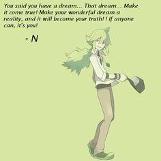 N, the best of Pokemon <3