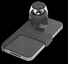 Shoot 360 degree panoramic video with your iPhone - how cool is that? #iphone