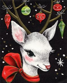The Art of Children's Picture Books: A Kitschy Retro Christmas