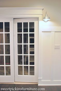 How to guide to framing a doorway with dramatic molding