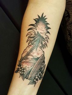 Pineapple Tattoo!