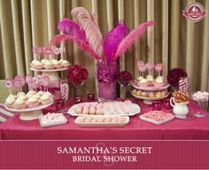 Victoria's Secret-themed bridal shower!!