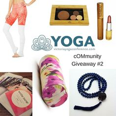 YAH! Another  cOMmunity Giveaway  In the spirit of community and wellness the Victoria Yoga Conference  love unity and quality time enter to win $750 worth of yoga body cosmetic spiritual and wellness treats. Join the loop giveaway and meet 6 companies who together are gifting a complete mind body and wellness indulgence!  This Giveaway Includes:  One day pass (Saturday or Sunday) to the 2017 Victoria Yoga Conference  Elate Cosmetics Beauty Kit  Write Now cards from The Story Midwife and…