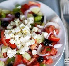 Receta de ensalada griega