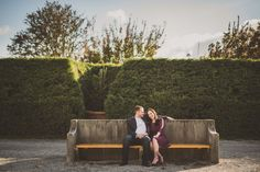 Biltmore Estates in Asheville, NC.  Engagement photos by Vesic Photography.