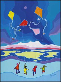 Ted Harrison, Dancing Kites
