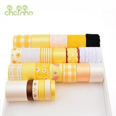 High Quality Mix Design Ribbon Set For Diy Handmade Gift Craft Packing Hair Accessories Materials Wedding Ribbon Package
