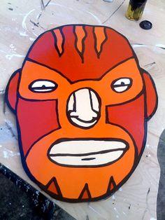 El Fuego Misterioso by theoldroadhog on Etsy, $200.00