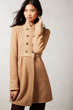 Midtown Wool Coat #anthropologie #anthrofave