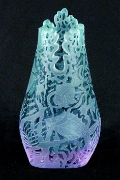 116: Decorative Arts: Glass by Marialyce Hawke (b. 1941 : Lot 116