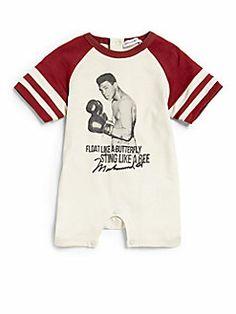 Designer Muhammad Ali Bodysuit For Baby Boys - Sweet Onesies