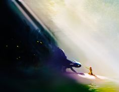 How to Train Your Dragon concept art by Pierre-Olivier Vincent