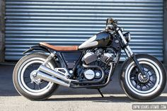 Une Honda VT 500 E custom signée Micho's Garage Motorcycles : good job !