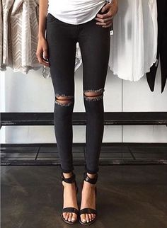 #slim #blackjeans