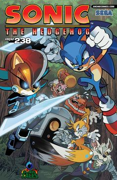 Sonic Tales: Sonic The Hedgehog #238