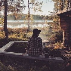 Teatime by the river ☕ . Happy Moments, Finland, Tea Time, River, Explore, Nature, Summer, Outdoor, Outdoors