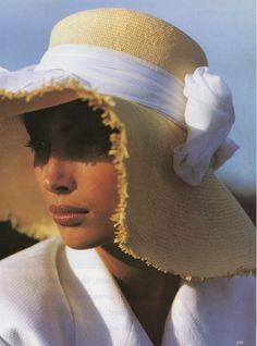 Christy Turlington for Vogue 1990