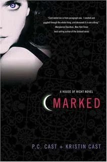"~My Book Reviews~: ""Marked"" by P.C. Cast and Kristin Cast (House of Night book 1)"