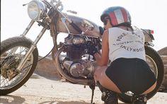 Les photos de filles à moto de Lanakila MacNaughton | zbrak