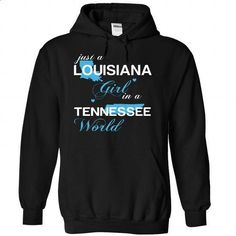 (LAJustXanh001) Just A Louisiana Girl In A Tennessee Wo - #cool hoodies for men #earl sweatshirt hoodie. SIMILAR ITEMS => https://www.sunfrog.com/Valentines/-28LAJustXanh001-29-Just-A-Louisiana-Girl-In-A-Tennessee-World-Black-Hoodie.html?id=60505