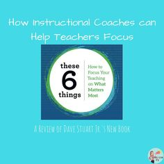 How Dave Stuart Jr's book can assist instructional coaches as they help teachers focus on argument, reading, writing, speaking and long-term flourishing! Faculty Meetings, Curriculum Mapping, Instructional Coaching, English Classroom, New Teachers, Best Teacher, New Job, Coaches, Book Recommendations