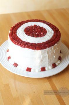 Brave/Polka-Dot Cake