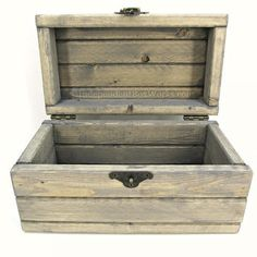 pallet wood jewelry box - Google Search