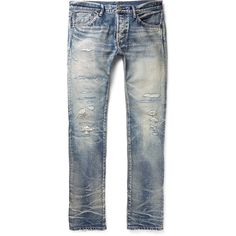 Get timeless jeans from the most sought-after names in men's fashion. Skinny Jeans, Denim Jeans, Blue Denim, Indigo, Slim, Fitness, Pants, Outfits, Men