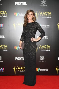 Brooke Satchwell arrives ahead of the 6th AACTA Awards Presented by Foxtel at The Star on December 7, 2016 in Sydney, Australia.