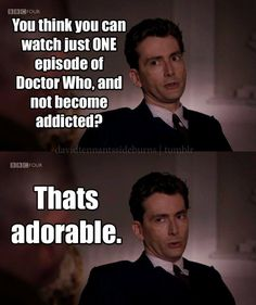 That's adorable.... I'm a #doctorwho addict