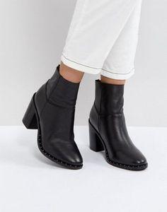 595db1813e8232 Bottines En Cuir, Chaussure, Asos, Vêtements De Travail, Tenues Cools,  Comment