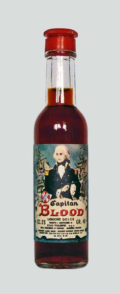 Valenti Eridanea - Mini Liquor Bottles - Captain Blood - https://sites.google.com/site/valentieridanea/