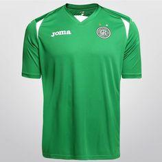 Camisa Joma Guarani I 2015 s/nº - Verde