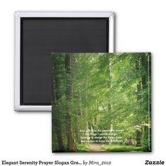 Elegant Serenity Prayer Slogan Green Forest Path Magnet #serenityprayer #serenityprayermagnets #serenityprayerforest #inspirationalquotes #inspirationalquotesmagnets #forestmagnets #forests #forestphotos