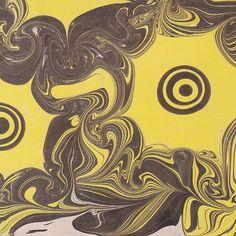 "Auramics Found Musing. ""Flowers"" by Koloman Moser, 1904."