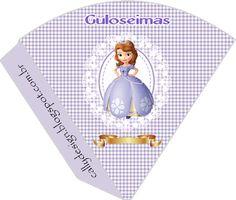 CALLY'S  DESIGN-Kits Personalizados Gratuitos: Kit Aniversário Digital Princesa Sofia -