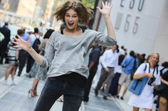 pleasant surprise #NYFW #streetstyle Photo by Michael Tornato for Fashiolista \\ www.thetrendydwarf.blogspot.com