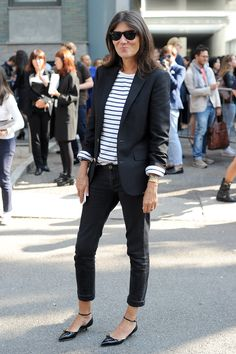 25 Times Emmanuelle Alt Killed it in a Pair ofJeans | StyleCaster