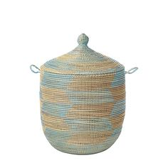 Senegalese storage baskets for a nursery