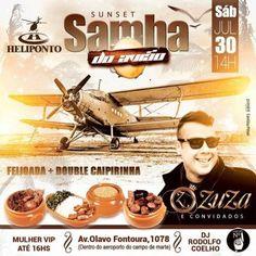 Heliponto Bar | Sábado a Tarde com muita feijoada e samba Coloque seu nome na lista pelo link: http://www.baladassp.com.br/balada-sp-evento/Heliponto-Bar/393 Whats: 951674133