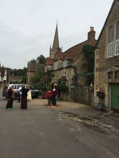 Beautiful village of Lacock