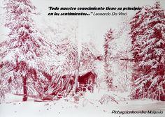 Todo nuestro conocimiento tiene un principio en los sentimientos (Leonardo Da Vinci)